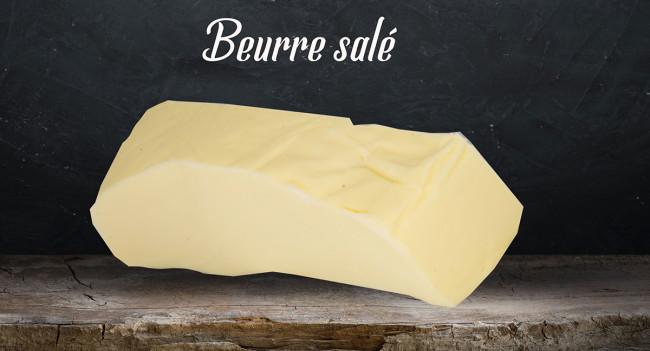 Beurre motte salé